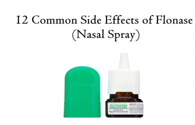 12 Common Side effects of Flonase (Nasal Spray)