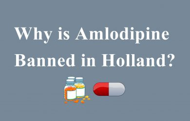 Why is Amlodipine banned in Holland