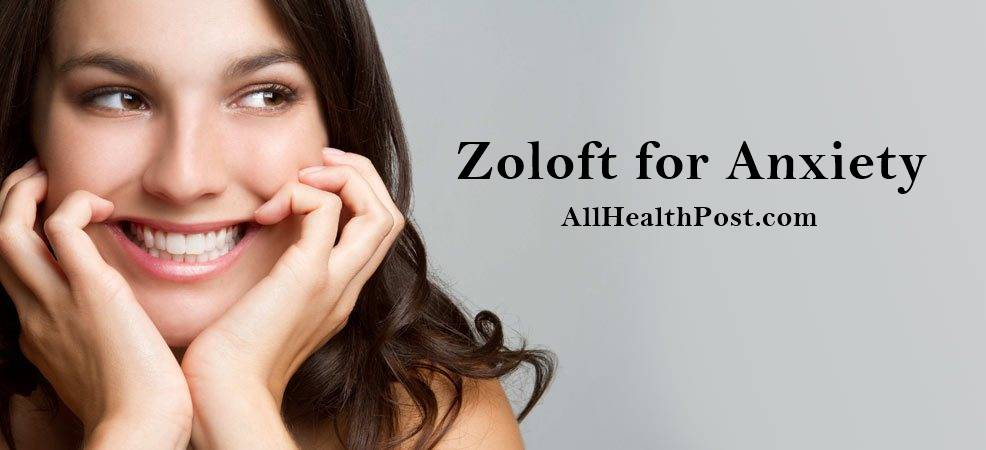 zoloft for anxiety