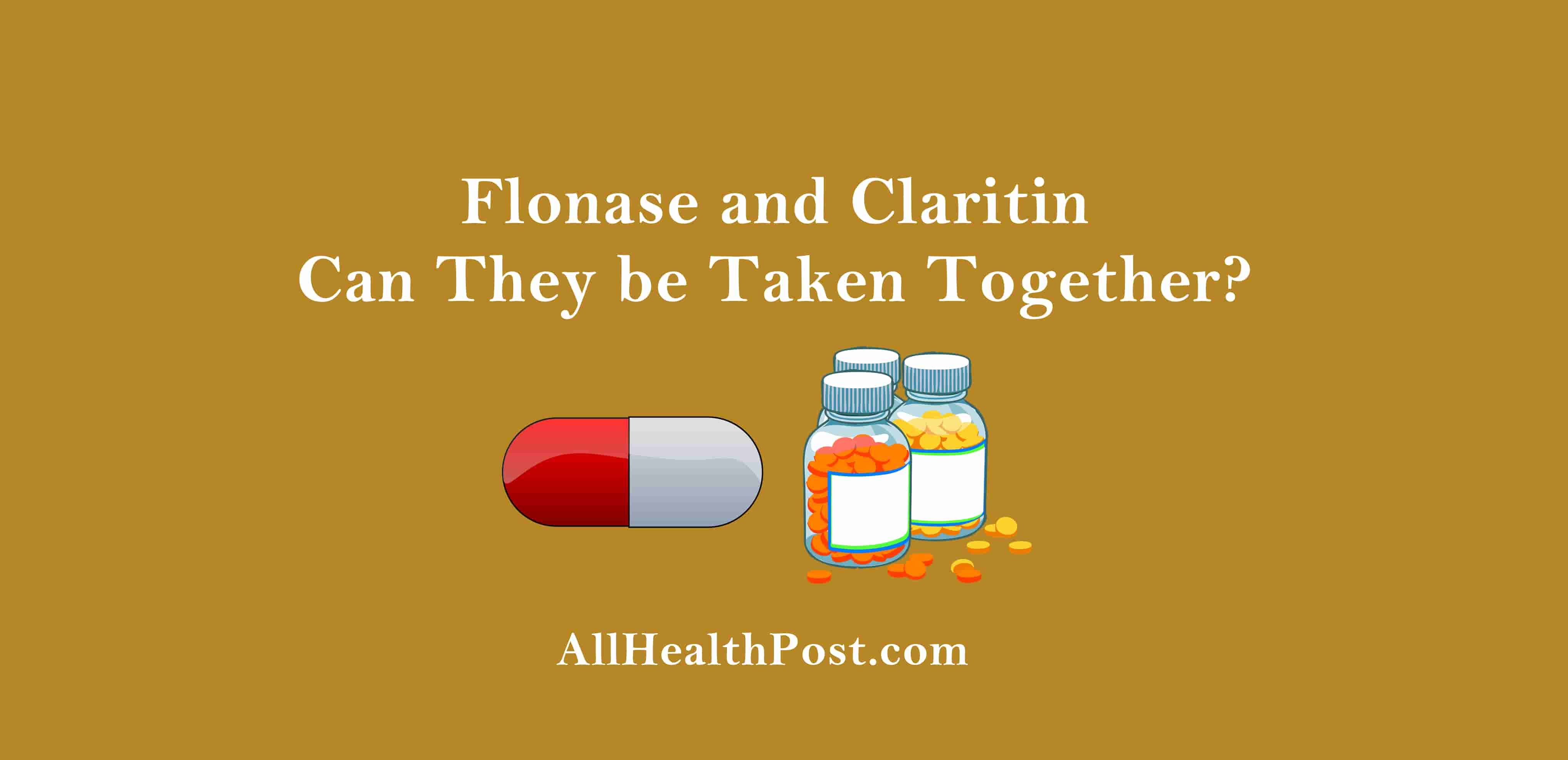 Flonase and Claritin Can They be Taken Together